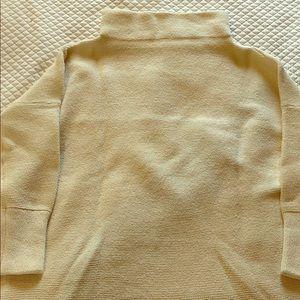 Free people ottoman tunic -Cream size M